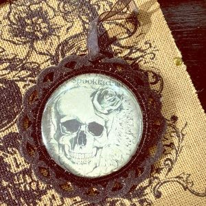 Apothecary Halloween gothic skull 💀 art